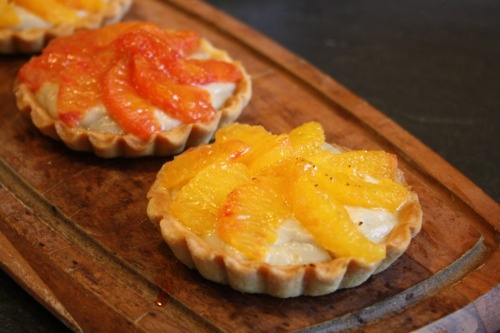 Earl Grey- infused blood orange tarts | Earl Grey | Pinterest