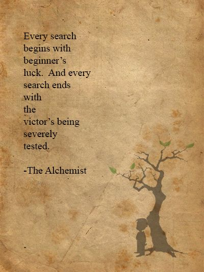 the alchemist quotes Inspiration Pinterest