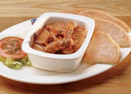 Strips. Steak strips in a creamy blend of peri-peri and tomato salsa ...