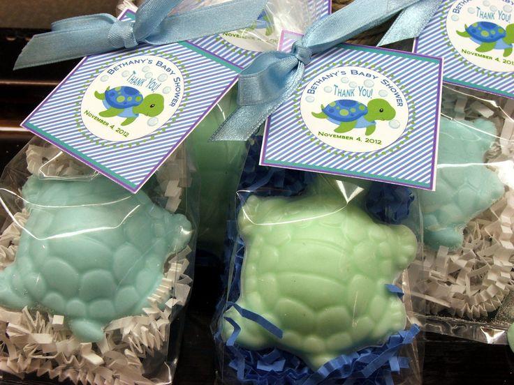set of 10 turtle soap favors party favors baby shower bridal shower