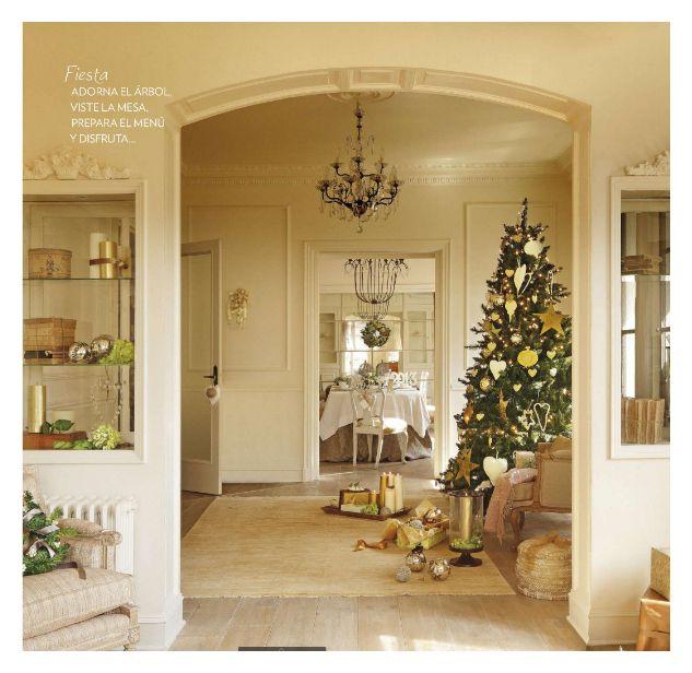 Salones de navidad elegantes estilismos mios para el for Muebles elegantes