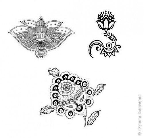 Как рисуют tattoo