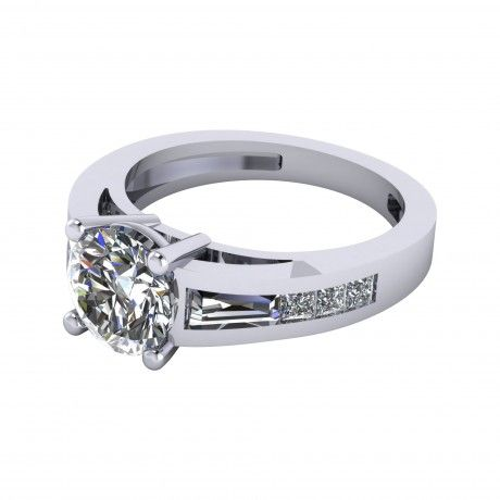 Rose Gold Engagement Rings Dallas Tx Images