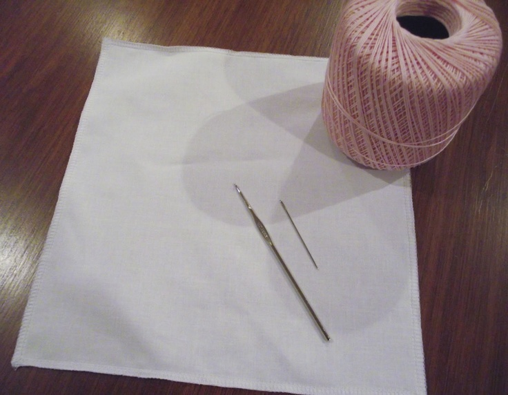 Materials needed for crochet edging Crochet Pinterest
