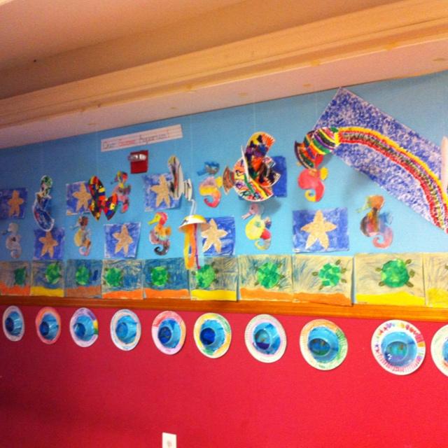 Our classroom aquarium