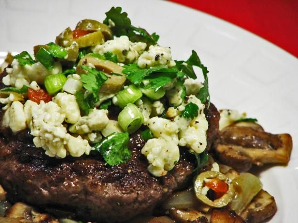 Blue Cheese & Olive Burger Topping | Recipe
