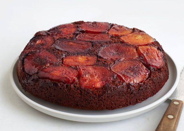 Apple-Molasses Upside-Down Cake | From: The Bon Appetit Test Kitchen ...