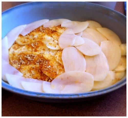French onion potato gratin | Y U M M M M M M M | Pinterest