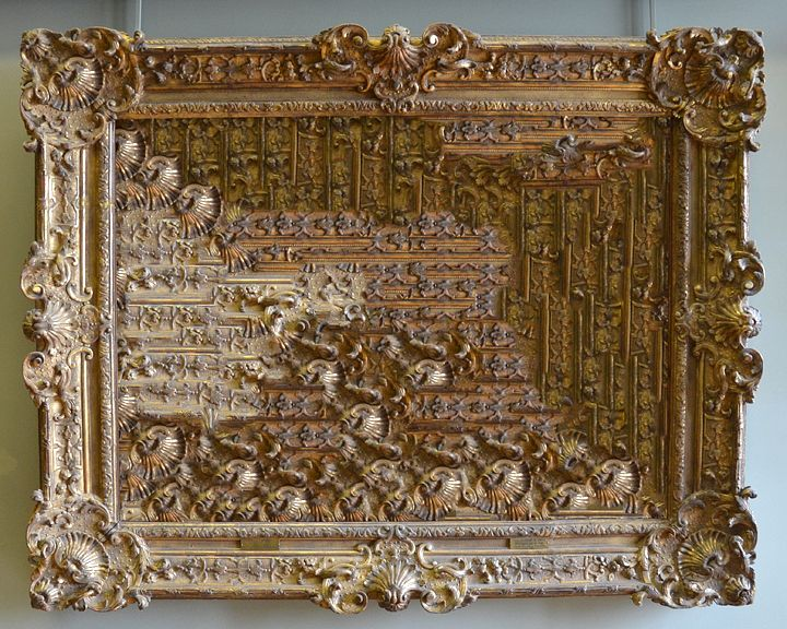 Fra[mes] : TAYLOR HOLLANDFrames from great works at the Louvre are filled with their own content using digital processes. (2012)    Currently partnering with Saintill Lijsten (Haarlem, NL) to realize a physical prototype of this project by taking antique frames and filling them with hand-crafted molds.