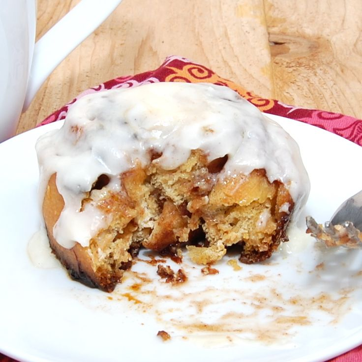Sweet Pea's Kitchen » Pumpkin Cinnamon Rolls with Cream Cheese Icing