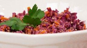 Purple Coleslaw | Vegan Recipes | Pinterest