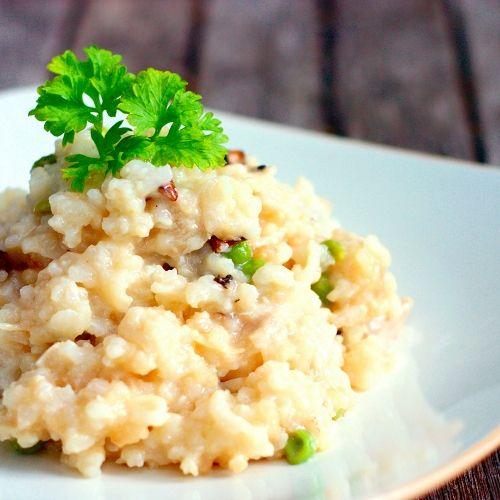 ... Shallot Kitchen: Risotto with Turkey, Portobello Mushrooms and Gree