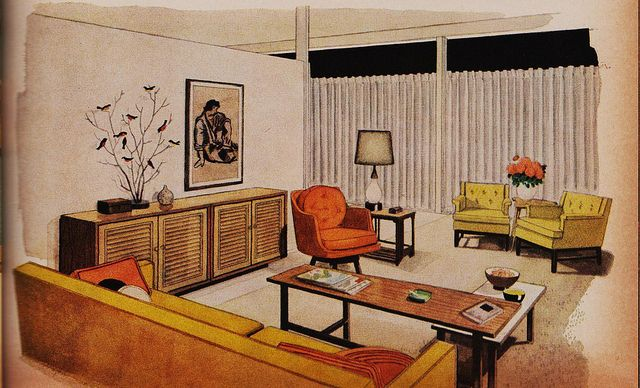 Better homes and gardens decorating ideas 1960 mid for Garden design 1960s