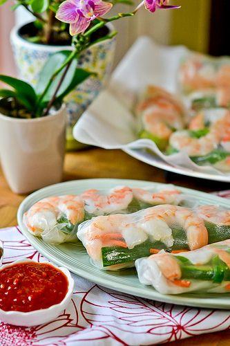 Shrimp Summer Rolls | salt | Pinterest