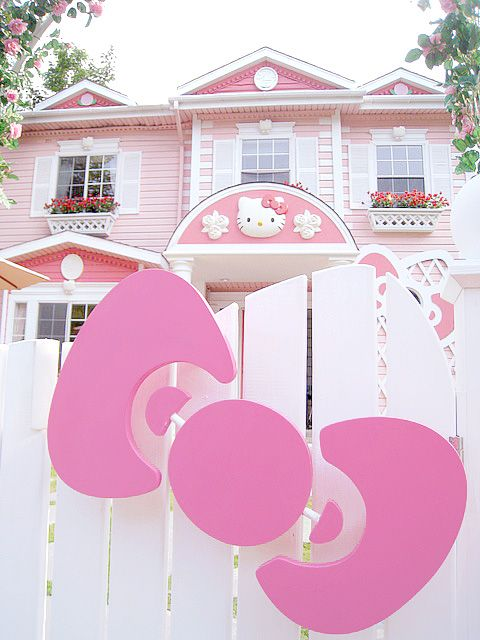 Kitty Dream House Hello Kitty Pinterest