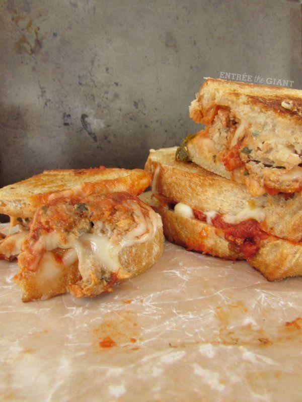 Grilled Meatball Sandwich Recipe — Dishmaps