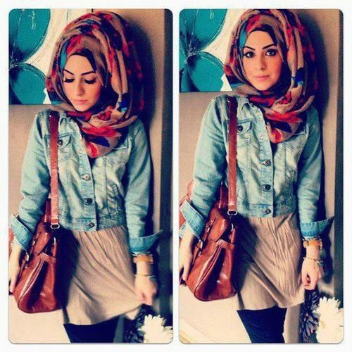 Retro Style Gorgeous Hijab Pinterest