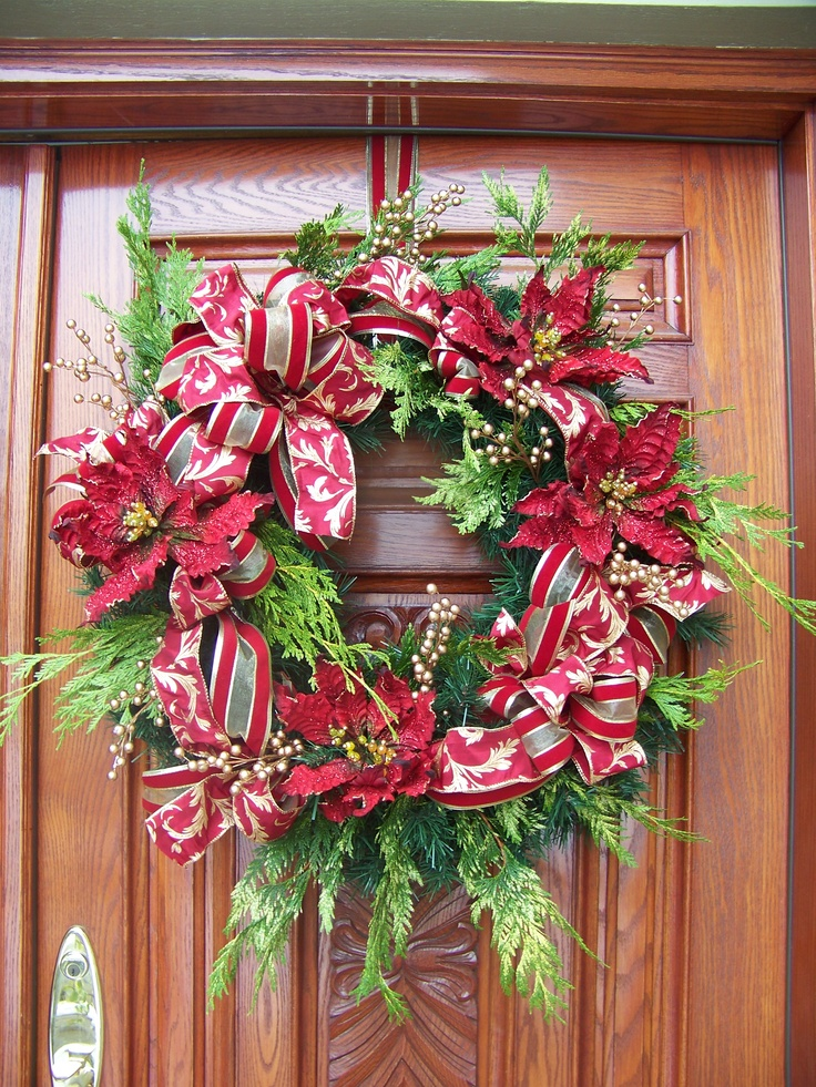 Christmas wreath do it yourself crafts pinterest for Do it yourself christmas ornaments crafts