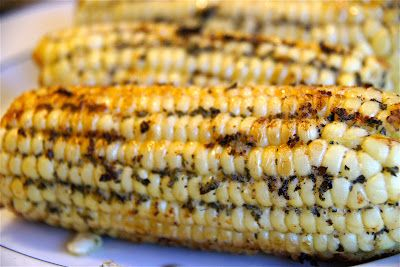 Basil Butter Corn on the Cob | Food | Pinterest