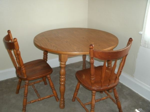 Dining Room Table 2 Chairs Craigslist Finds Pinterest