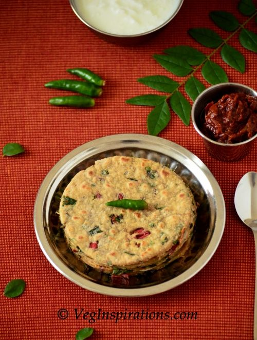 Swiss Chard Roti - flatbread | The Hungry Vegetarian | Pinterest