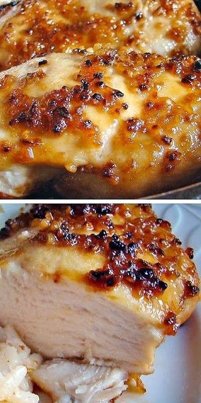 Easy Garlic Chicken Recipe | Recipes | Pinterest