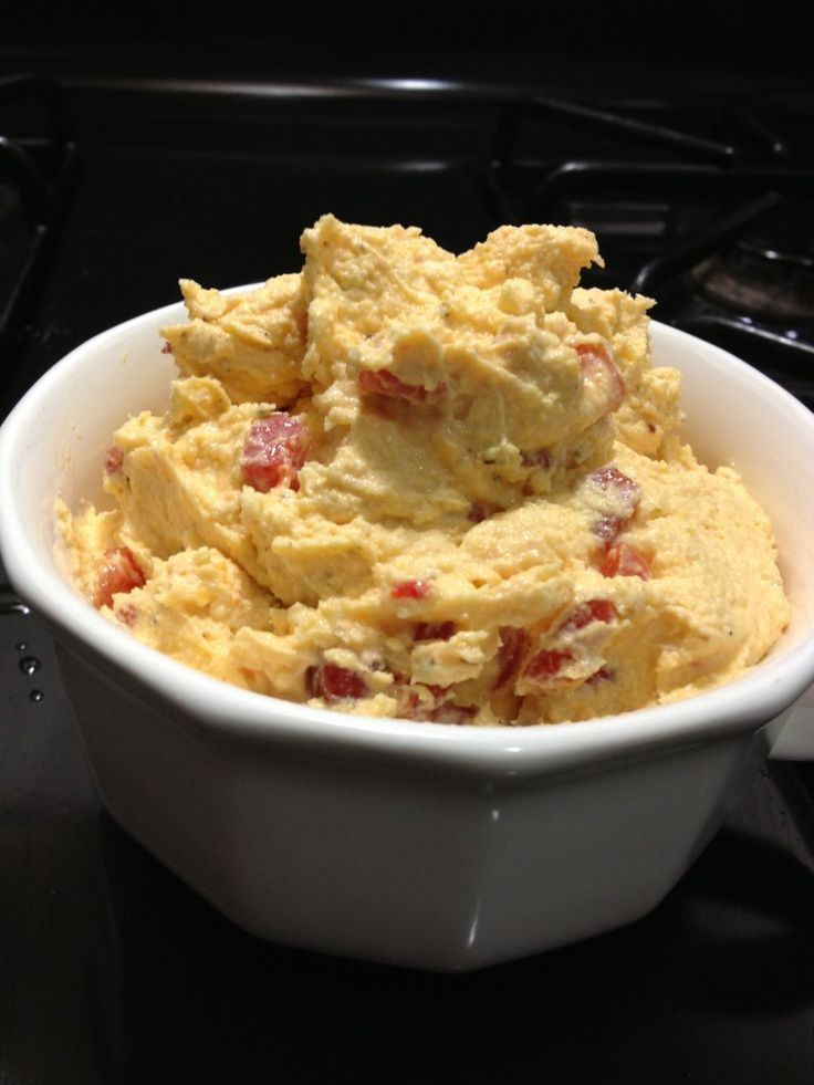 Pimento Cheese Spread A better pic is at http://www.healthyrecipes.org ...