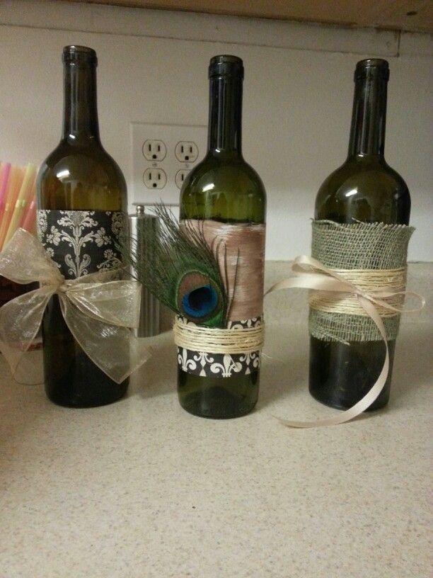 Wine bottle craft night future pinterest home pinterest