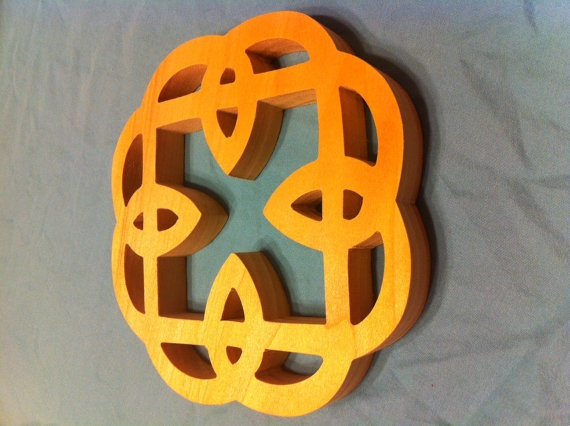 celtic knot wall hanging