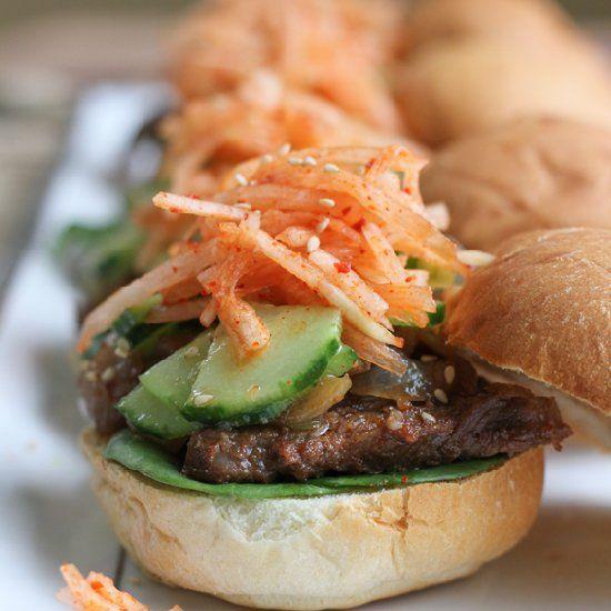 Bulgogi Sliders | Delight the tastebuds | Pinterest