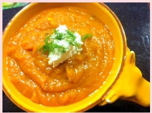Velvety Butternut Squash Soup https://theblakery.wordpress.com/2011/11 ...