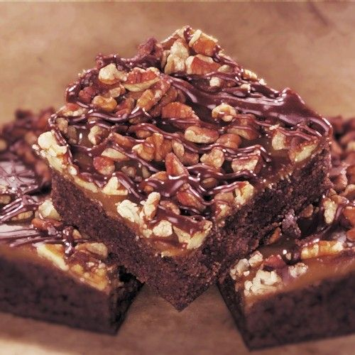 Turtle Brownie (no recipe, just inspiration)