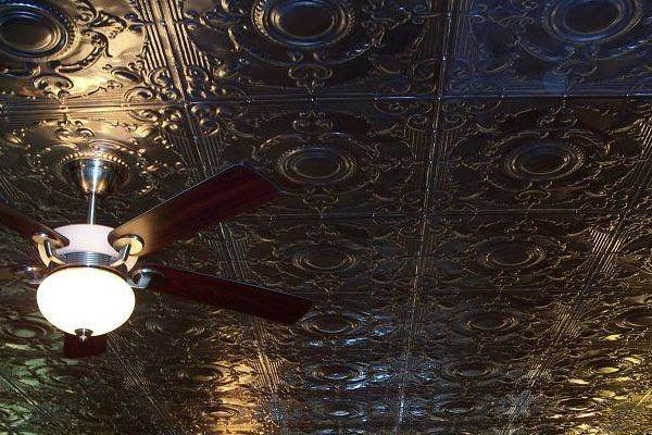Pressed Tin Ceiling  Dream Home  Pinterest
