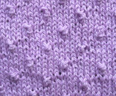 Knitting Stitch Knot : Knot Stitch Knitting stitches Pinterest