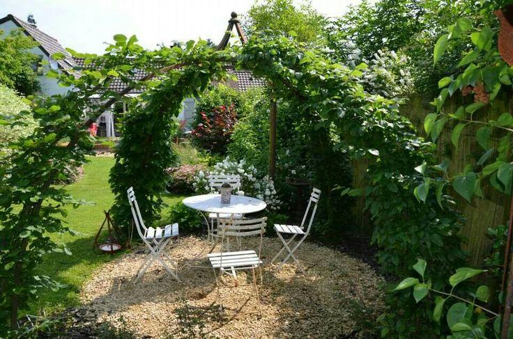 Tonnelle d co jardin pinterest - Pinterest jardin deco ...