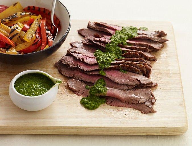 Chimichurri Steak & Peppers ☆ | Ӝ̵̨̄ Entrée Excelente Ӝ̵̨̄ ...