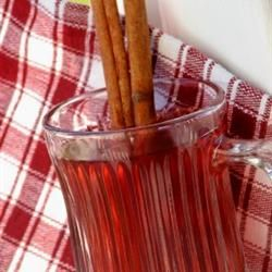 Hot Spiced Cranberry Cider Allrecipes.com. Sub honey for brown sugar ...