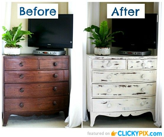20 before and after furniture makeovers furniture