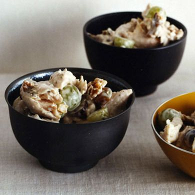 chicken salad with grapes and walnuts | [ sides & salads ] | Pinterest