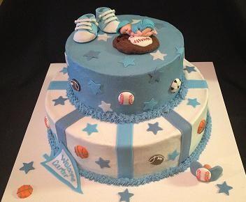 sports themed baby shower cake cake ideas pinterest