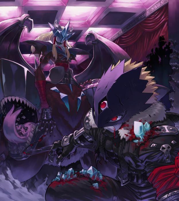 Digimon - GranDracmon and BeelzemonGrandracmon