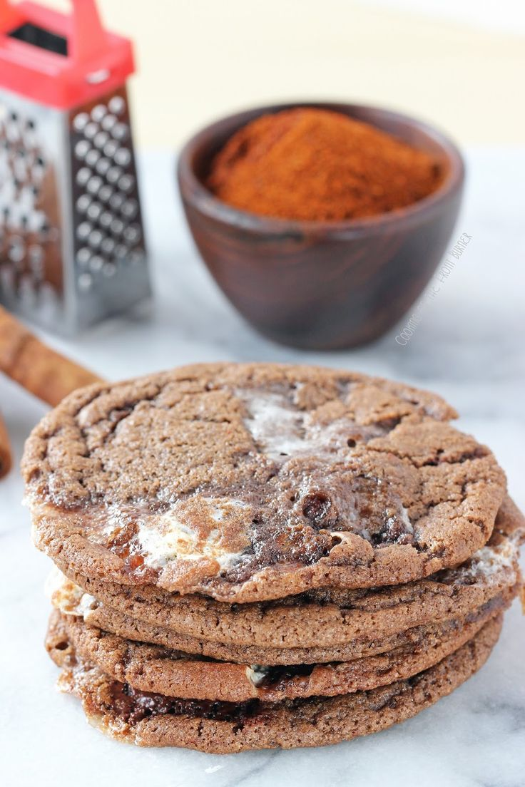 Mexican Hot Chocolate Cookies | the reason I'm fat | Pinterest