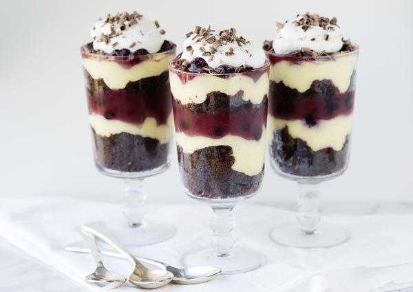 Recipe: Black Forest Trifle, Elizabeth's birthday