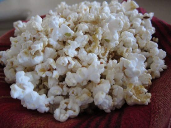Chile Lime Tequila Popcorn Recipe — Dishmaps