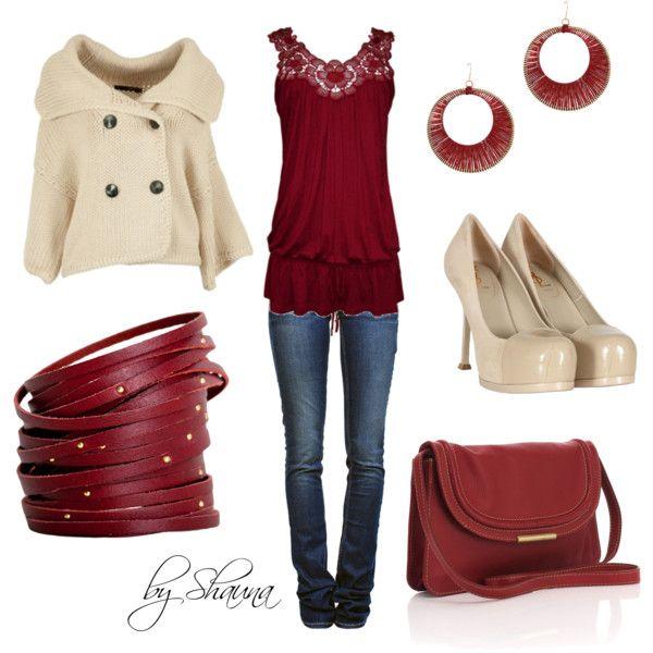 Loving the red bracelets!!