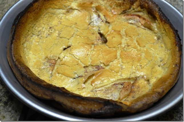 Dutch apple pancake | Recipes to Try | Pinterest