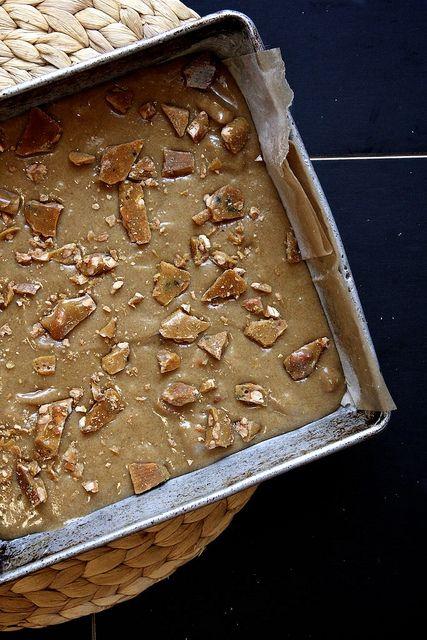 brittle and jam blonde brownies by joy the baker, via Flickr