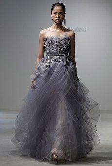 Grey Vera Wang Wedding Gowns Pinterest