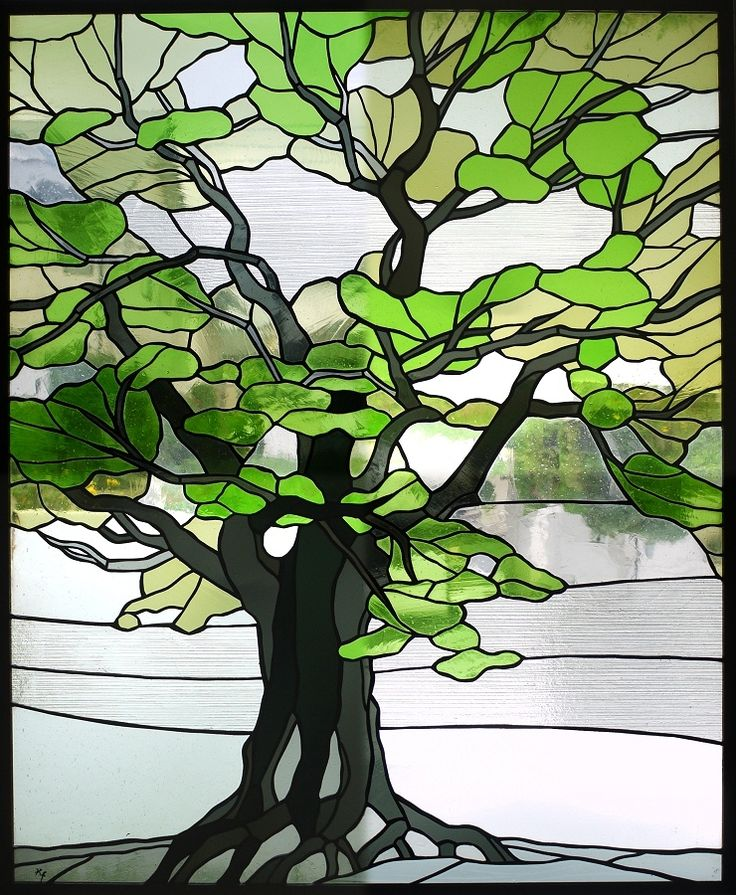 Stained glass tree patterns imgkid the image