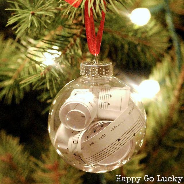 Christmas Ornament Craft Clear Balls : Clear christmas ball ornament ideas